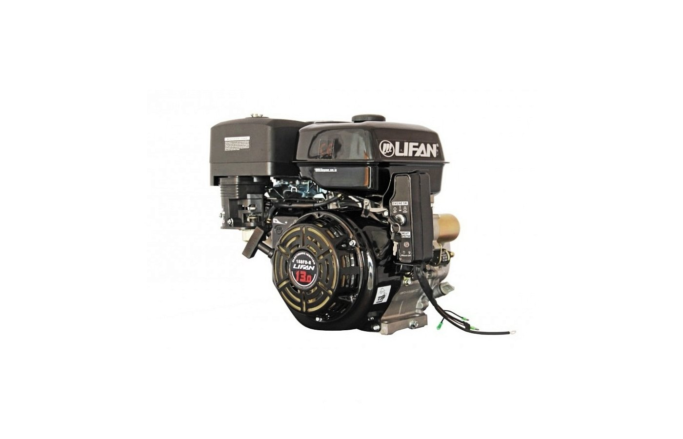 Мотоблок LIFAN 188FD-R Двигатель бензиновый