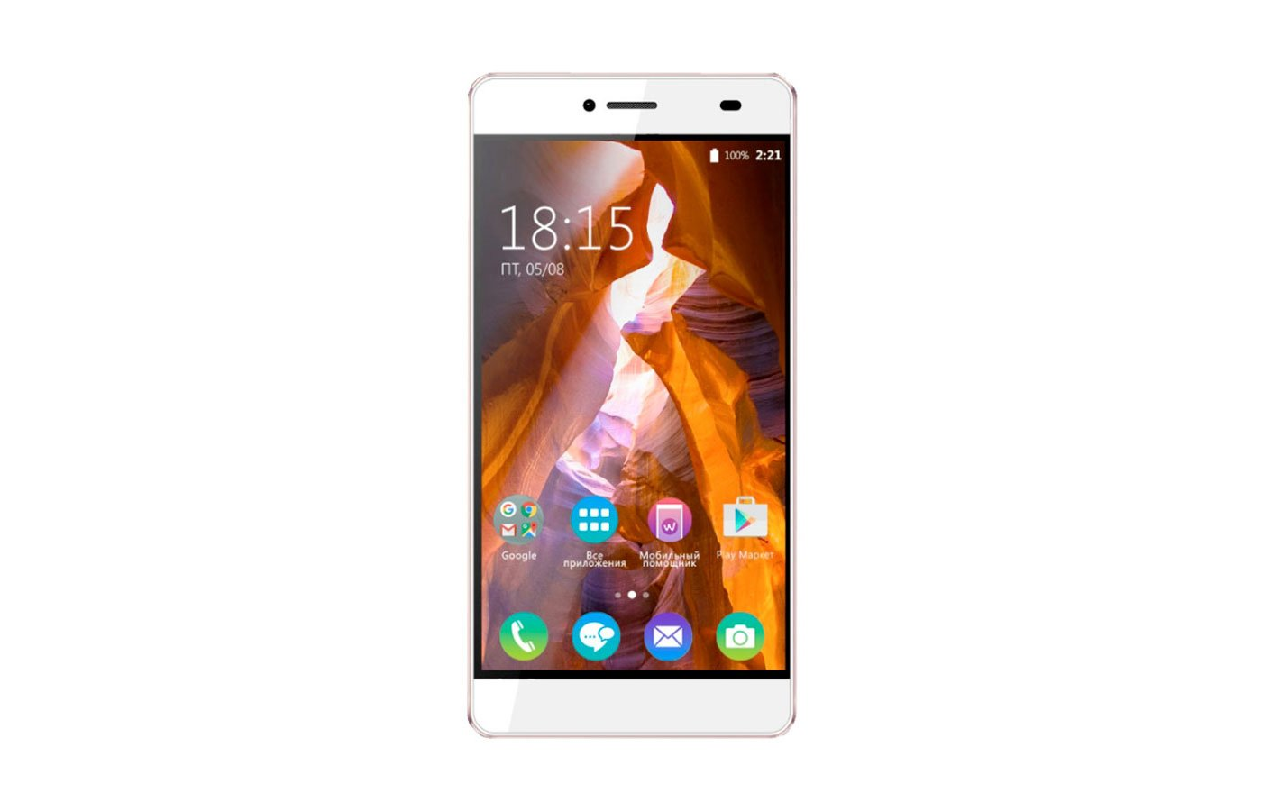 Смартфон BQ BQS-5070 Magic Pearl White