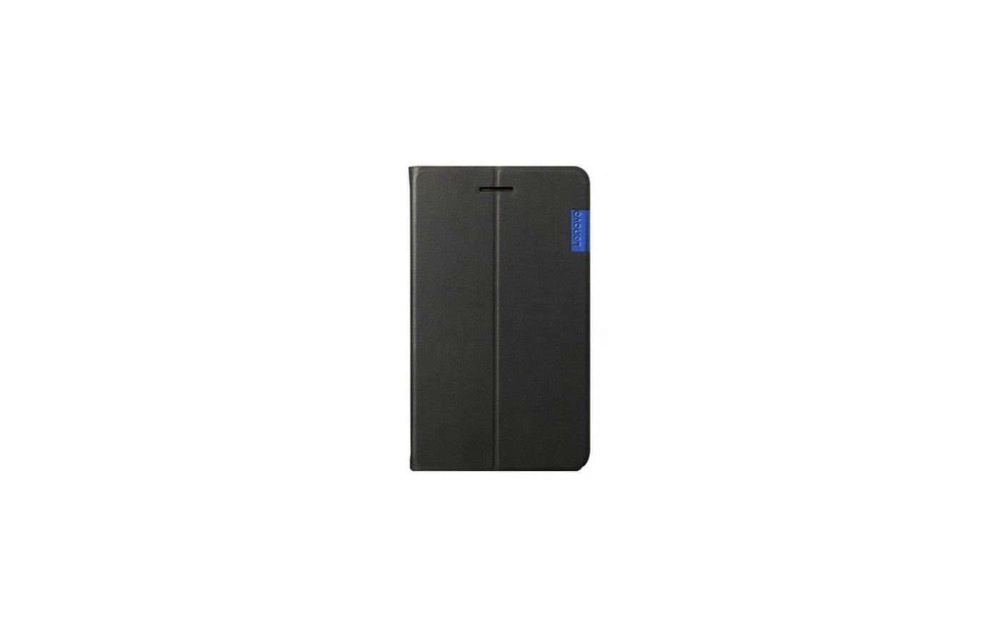 Чехол для планшетного ПК Lenovo для Lenovo Tab 3 730 Folio Case and Film черный (ZG38C01046)