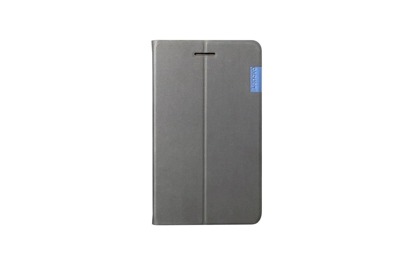 Чехол для планшетного ПК Lenovo для Lenovo Tab 3 730 Folio Case and Film серый (ZG38C01054)