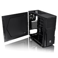 Корпус Thermaltake Versa H21 черный без БП ATX 2x120mm 1xUSB2.0 1xUSB3.0 audio bott PSU