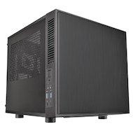 Корпус Thermaltake Suppressor F1 черный w/o PSU miniITX 1x80mm 1x120mm 1x140mm 1x200mm 2xUSB3.0 audio bott