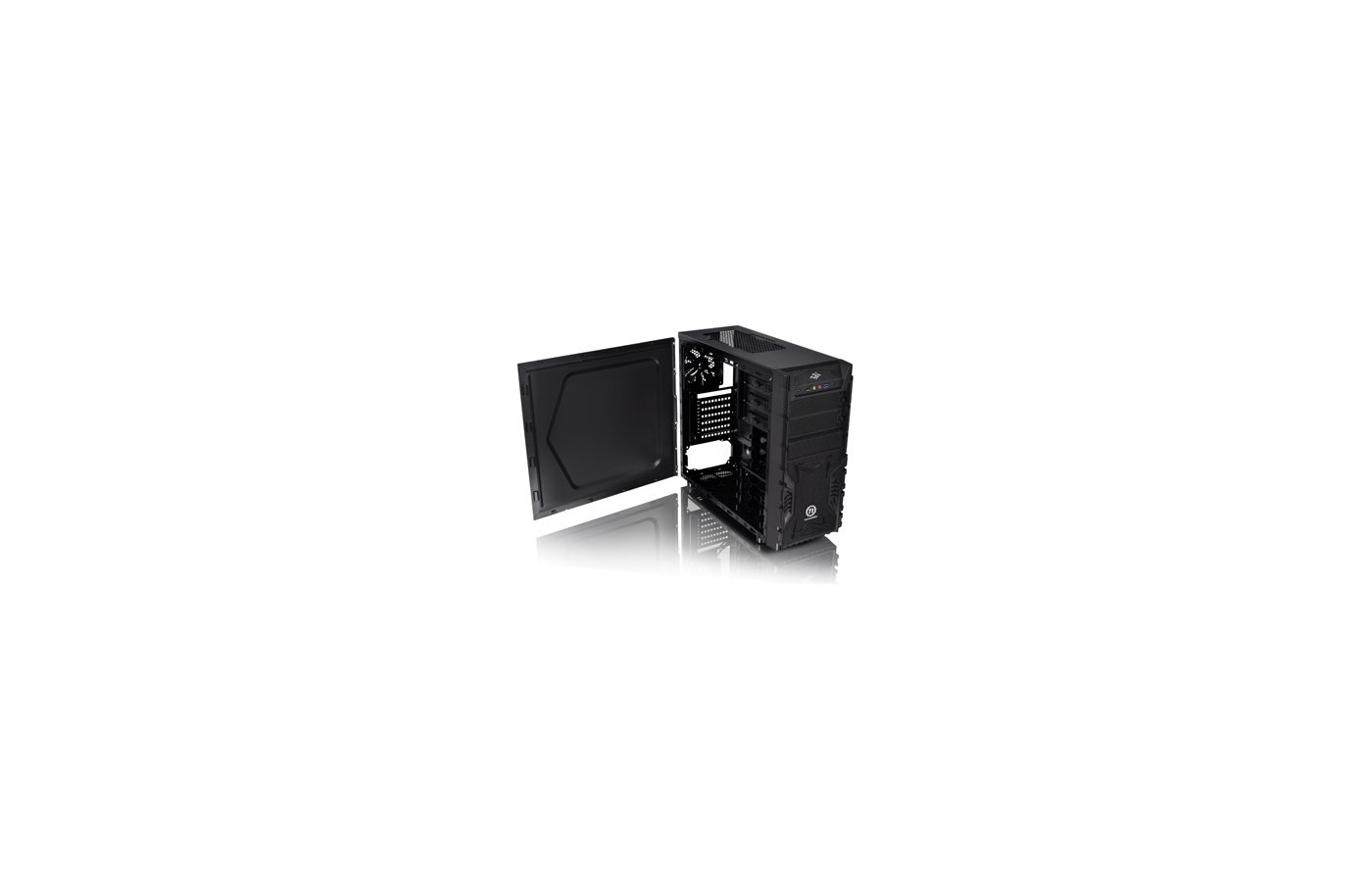 Корпус Thermaltake Versa H23 черный без БП ATX 2x120mm 1xUSB2.0 1xUSB3.0 audio bott PSU