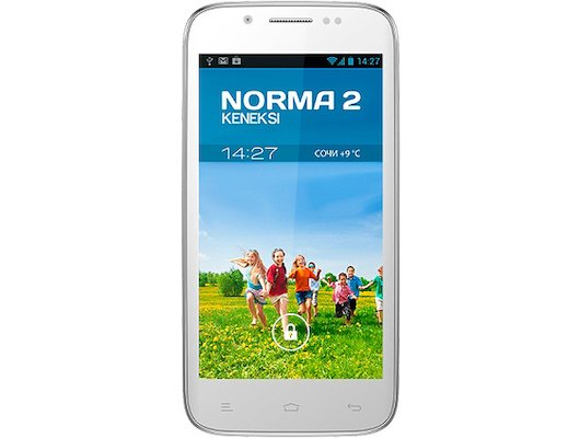 Смартфон KENEKSI NORMA2 White/Golden