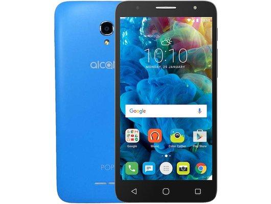 Смартфон Alcatel OT-5056D POP 4+ blue