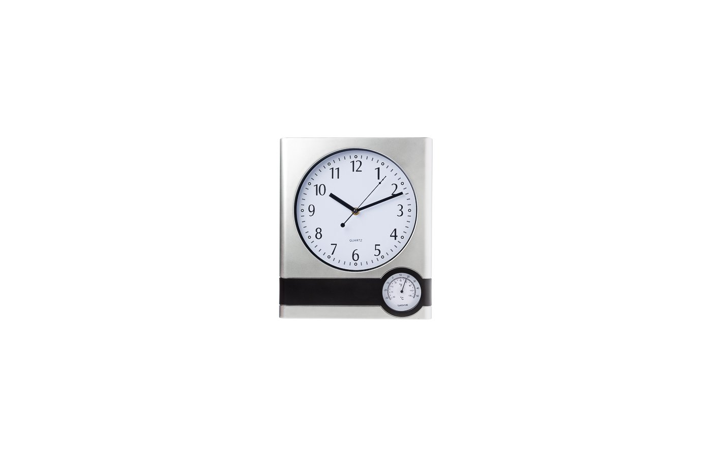Часы настенные 581-548 Часы настенные функциональные с термометром