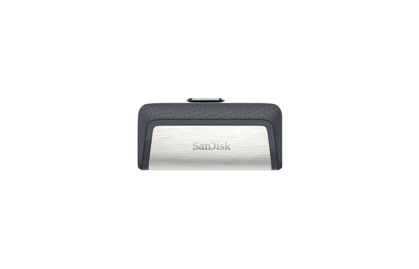 Флеш-диск Sandisk 16Gb Ultra Dual SDDDC2-016G-G46 USB3.0 серый/узор