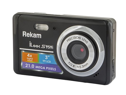 Фотоаппарат компактный Rekam iLook S959i черный