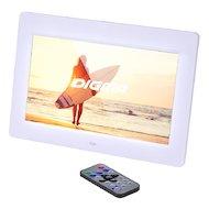 Фото Цифровая фоторамка Digma 10.1 PF-1033 1024x600 белый пластик ПДУ Видео
