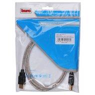 Фото USB Кабель BURO USB 2.0 A(m) - A(f) Кабель-удлинитель 1.8м. Позолоченные контакты. Прозрачный (817266)