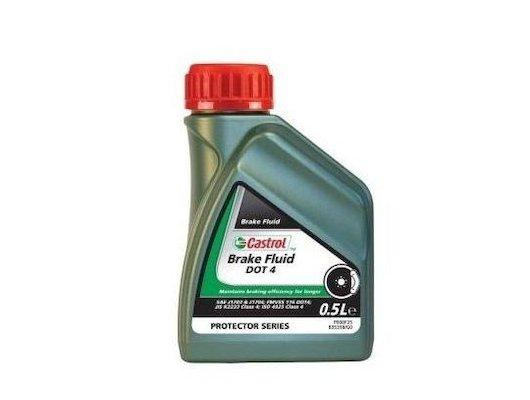 Автохимия Castrol Brake Fluid DOT 4 0.5л