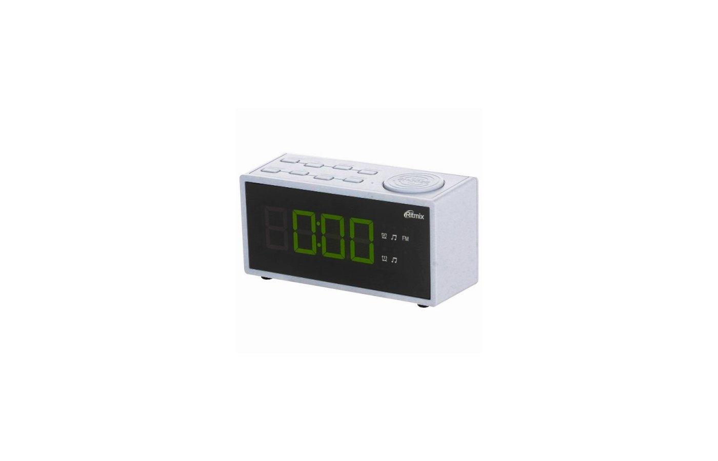 Настольные часы Ritmix RRC-1212 White