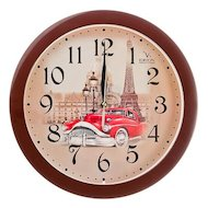 Фото Часы настенные 581-550 Часы настенные Парижское авто d 28.5 арт