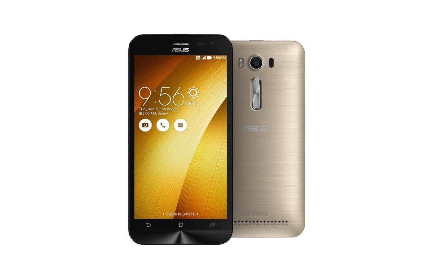 Смартфон ASUS ZE500KL ZenFone 2 Laser 32Gb золотистый