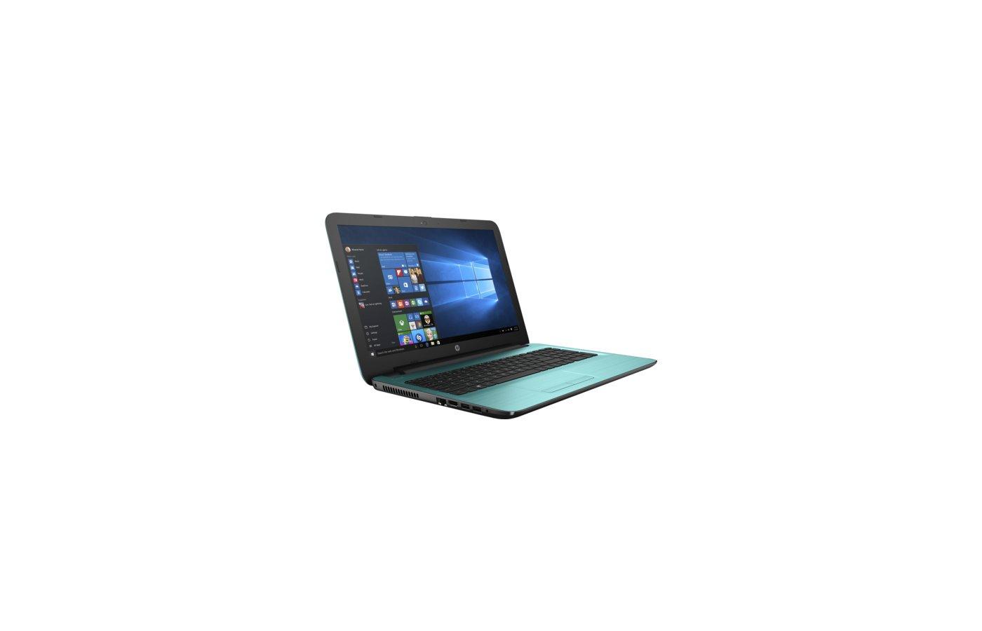 Ноутбук HP 15-ba506UR /Y6F18EA/ AMD E2 7110/4Gb/500Gb/15.6/WiFi/Win10 (Dreamy Teal)