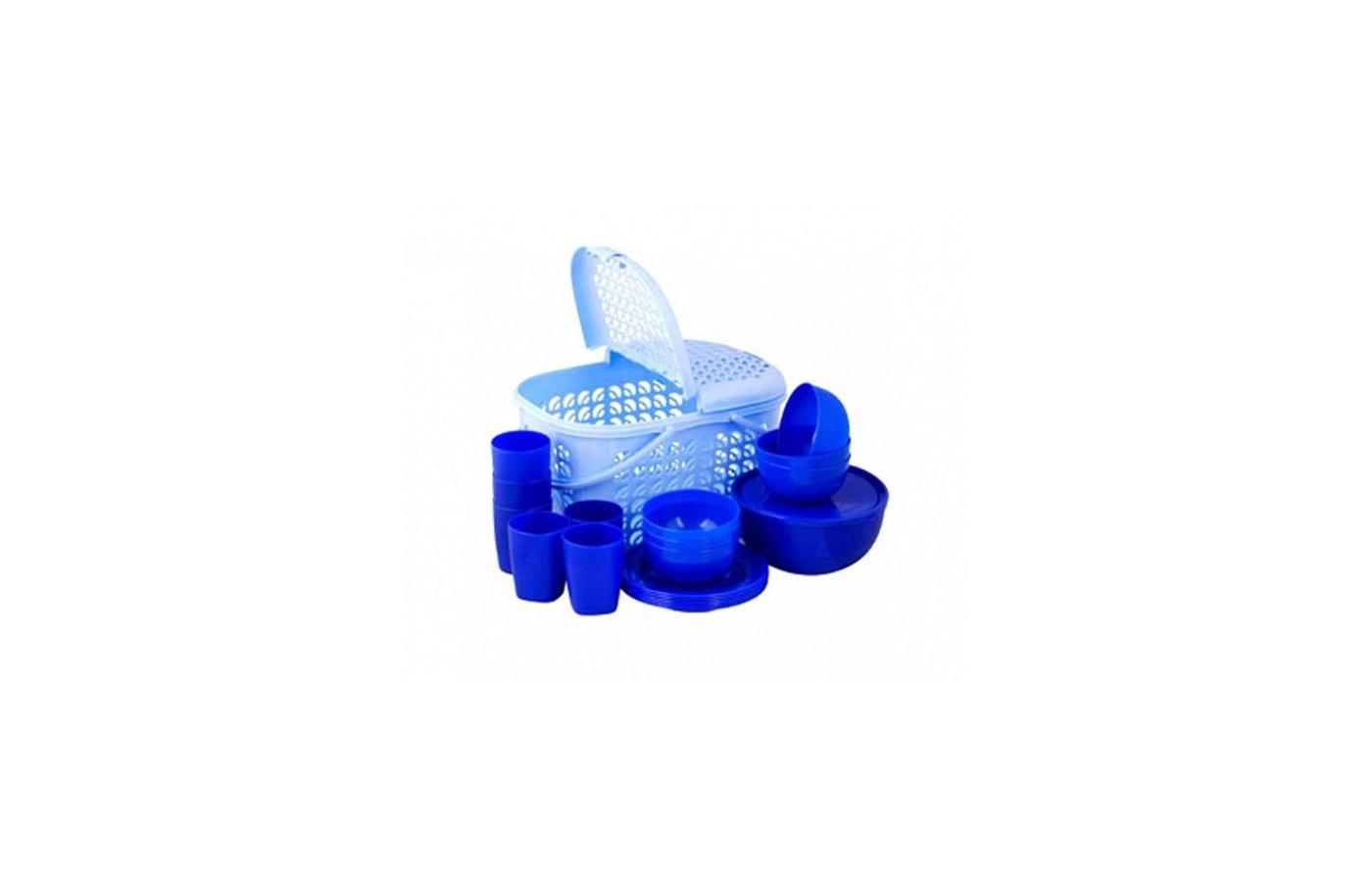 Набор для пикника Plastic Centre ПЦ1842 Набор для пикника на 6 персон