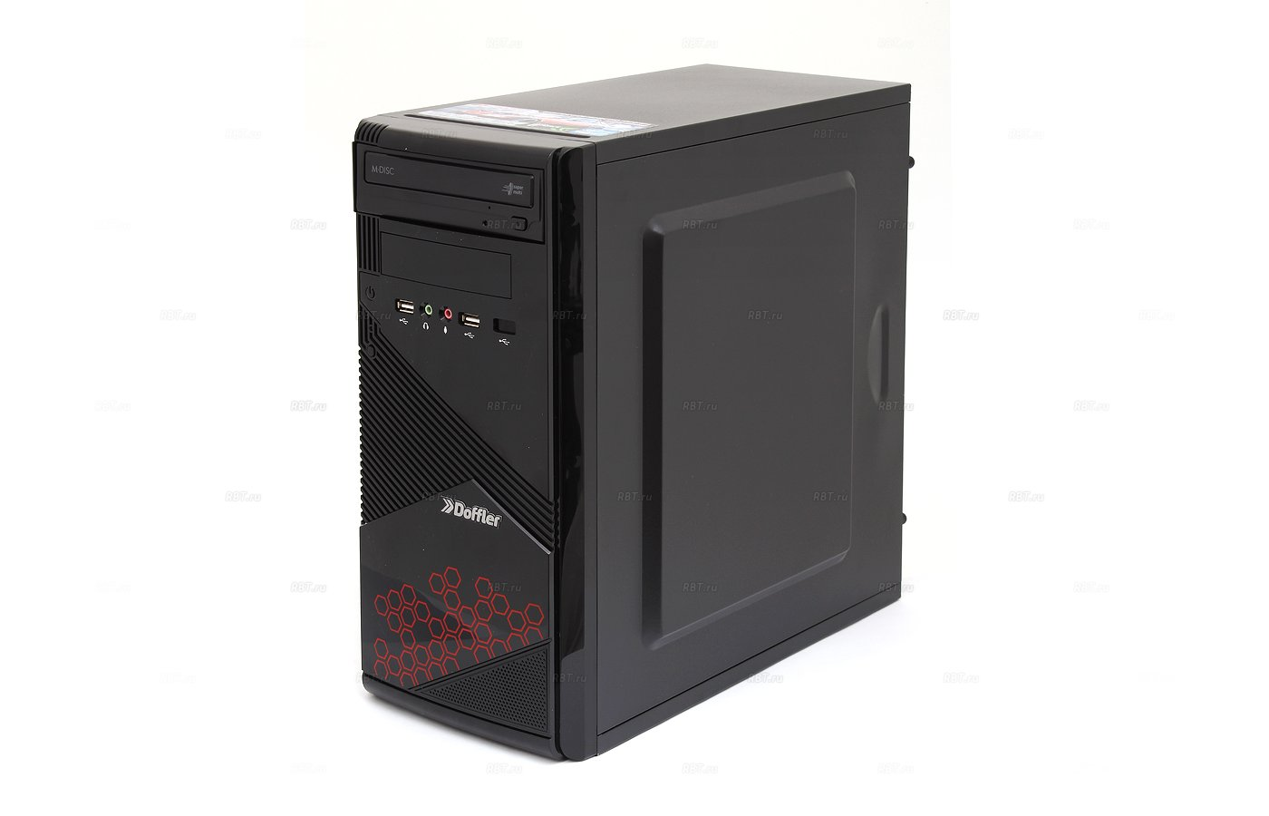 Системный блок Doffler i002N Game intel i5 520M x2 2.4Gh/8Gb/1Tb/GT740 2Gb/DVDRW/DOS