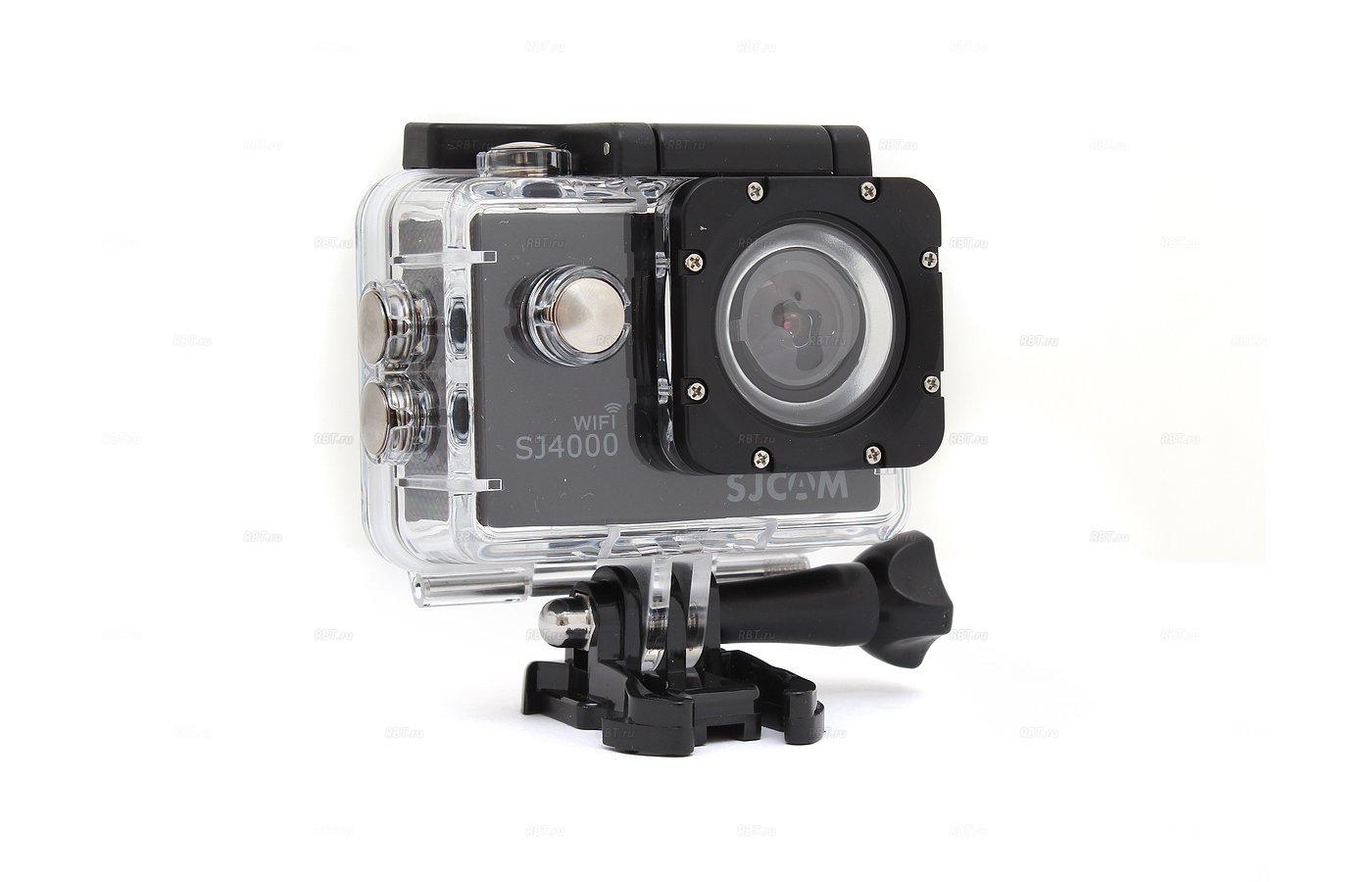 Экшн-камера SJCAM SJ4000 WiFi black