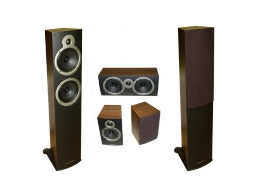 Комплект акустики WHARFEDALE Crystal CR-30.51 C blackwood (CR-30.5 ( 2 кор.)+CR-30C+CR-30.1)
