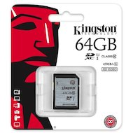 Фото Карта памяти Kingston SDXC 64Gb Class 10 UHS-I (SD10VG2/64GB)