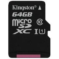 Карта памяти Kingston microSDXC 64Gb Class 10 UHS-I (SDC10G2/64GBSP)
