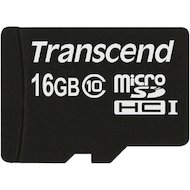 Карта памяти Transcend microSDHC 16Gb Class 10 (TS16GUSDC10)