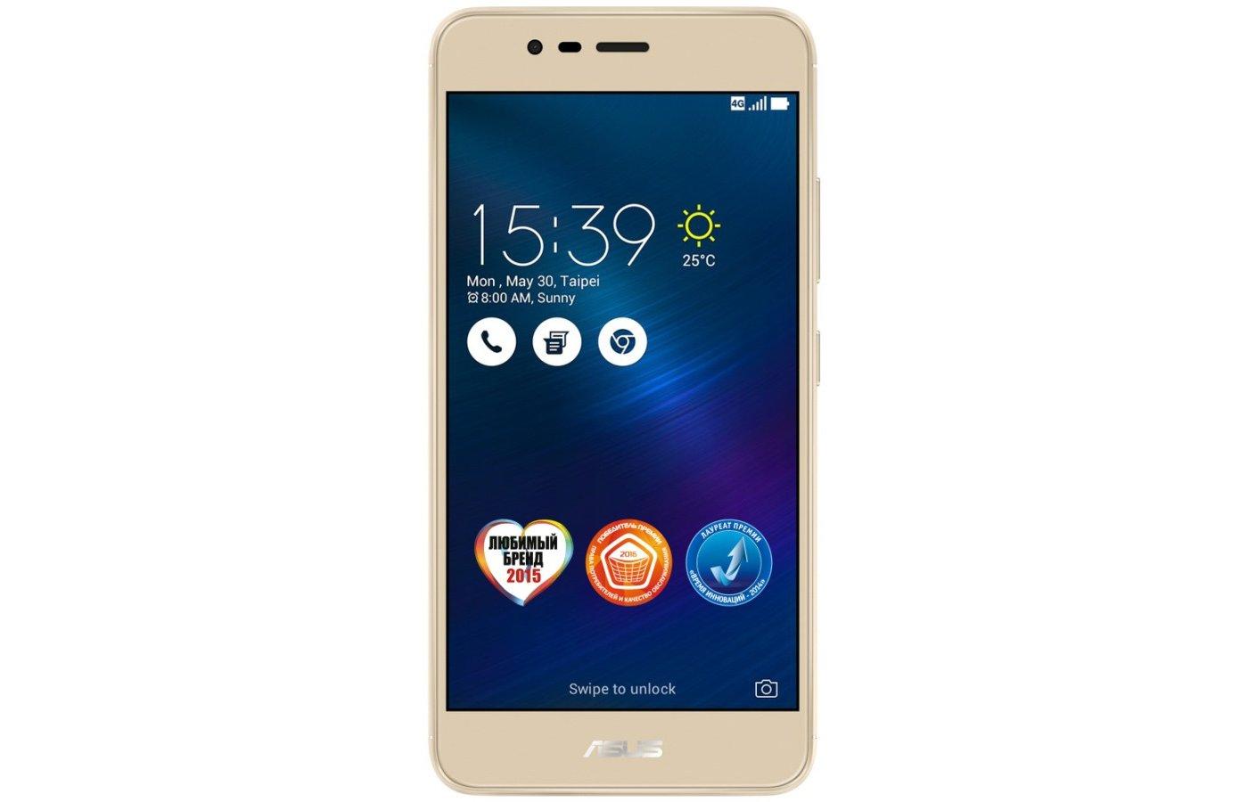 Смартфон ASUS ZC520TL ZenFone Max 16Gb gold