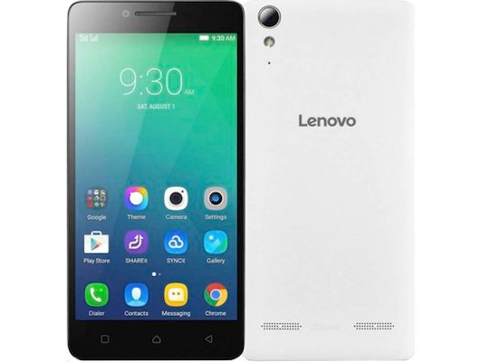 Смартфон LENOVO A6010 DS LTE White