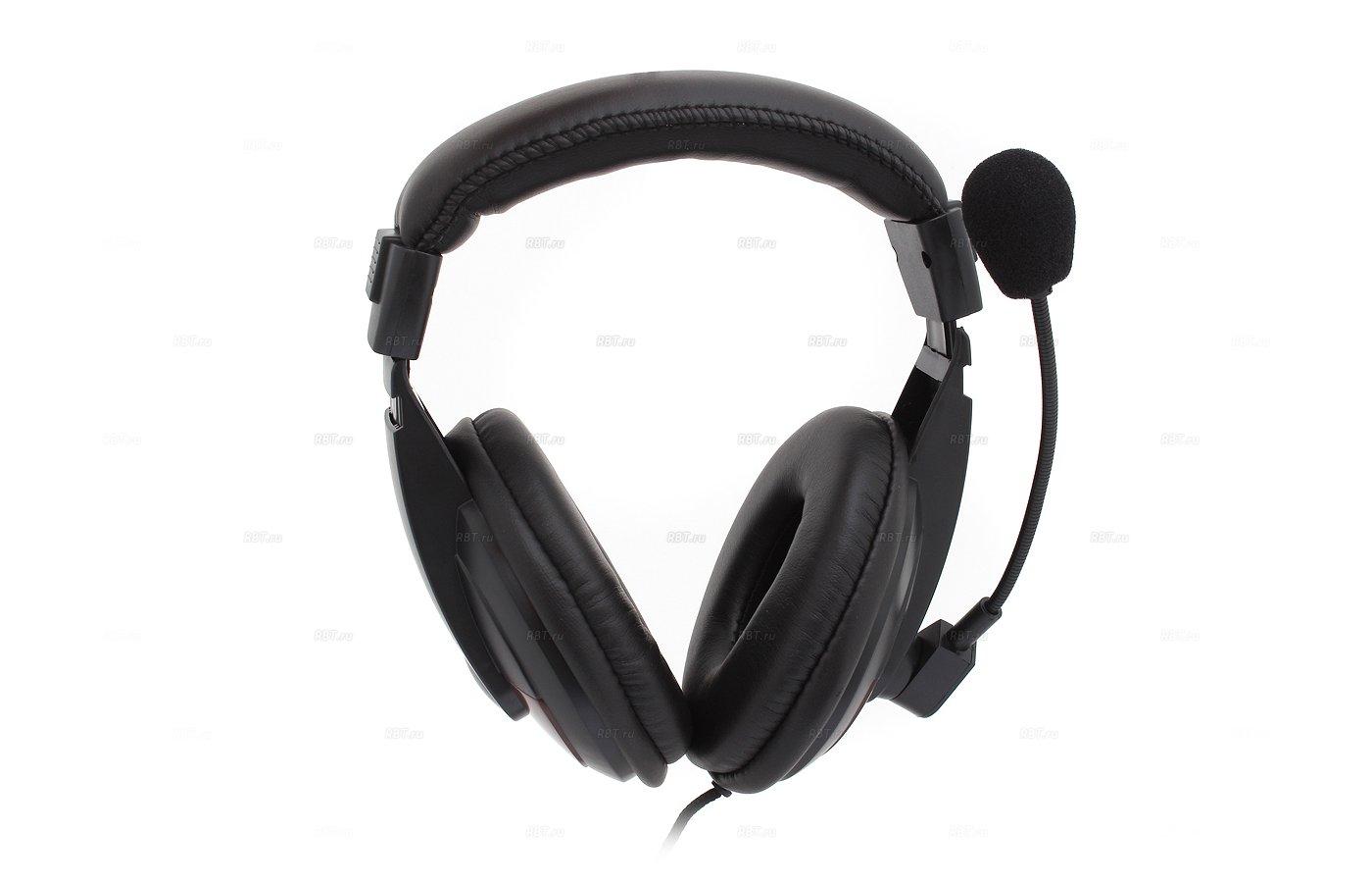 Наушники с микрофоном проводные Dialog M-750HV