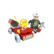 Фото Конструктор AUSINI 21101 Пожарная бригада Автомобиль 31дет.