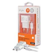 Зарядное устройство BELSIS СЗУ USB 1A + кабель microUSB (BS1407) белый
