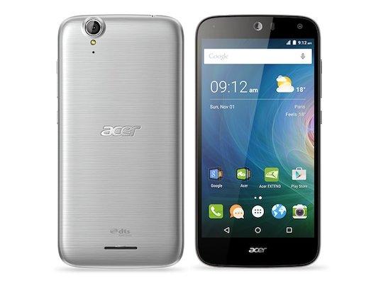 Смартфон Acer Liquid Z630 16Gb silver