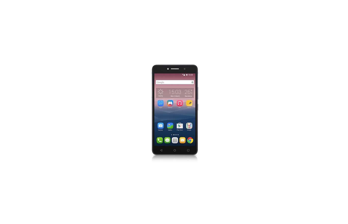 Смартфон Alcatel Pixi 4 8050D 8Gb black