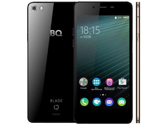 Смартфон BQ BQS-4800 Blade Black+Gold