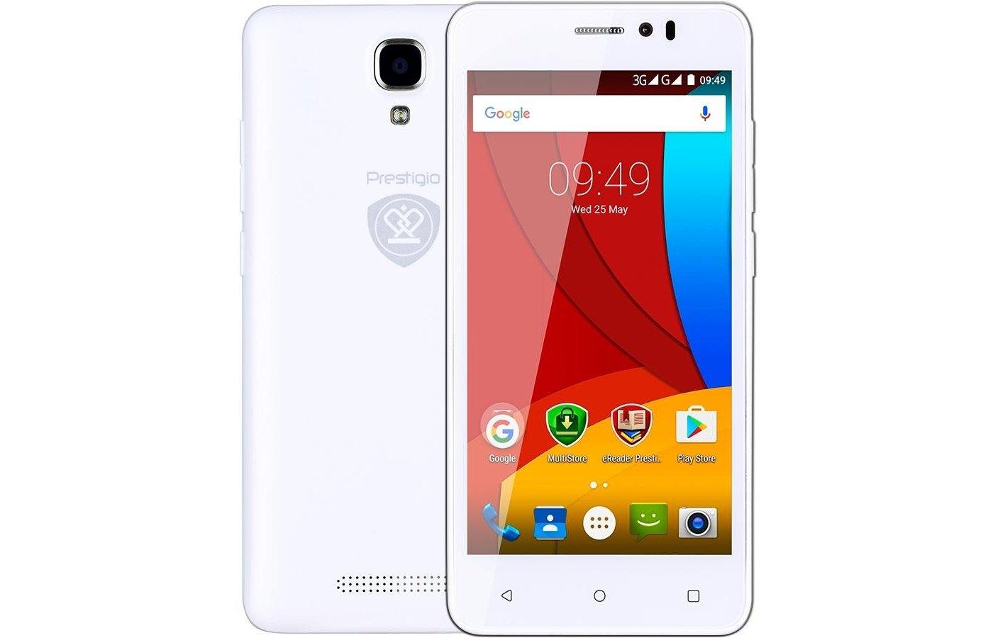 Смартфон PRESTIGIO Muze K5 5509 DUO WHITE