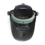 Фото Сварочный аппарат FoxWeld ГЛАДИАТОР черная с откидным стеклом С5 Маска сварщика