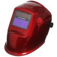 Маска сварщика FoxWeld Корунд-2 красная светофильтр Маска сварщика
