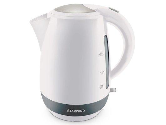 Чайник электрический  StarWind SKP 4621 белый