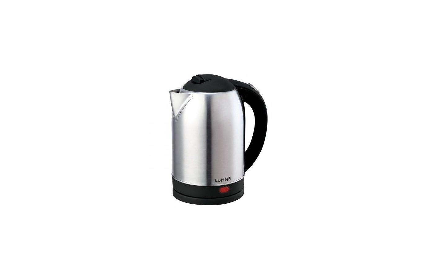 Чайник электрический  LUMME LU-217 черный жемчуг
