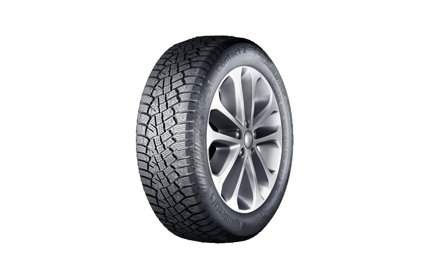 Шина Continental ContiIceContact 2 195/60 R15 TL 92T XL шип