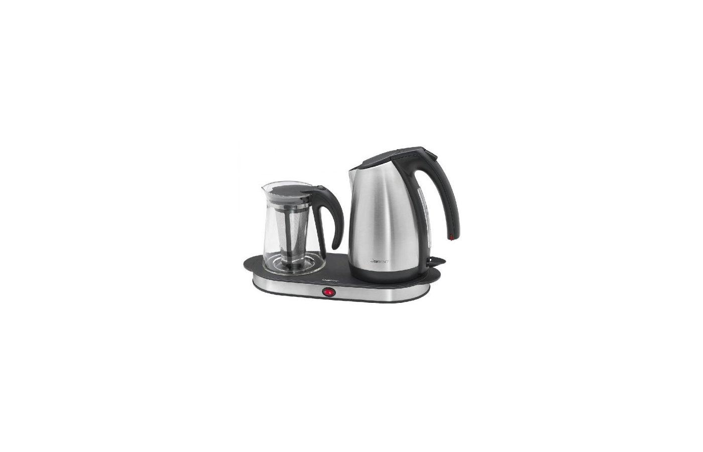 Чайник электрический  CLATRONIC TKS 3504 inox