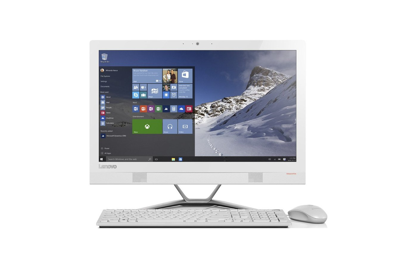 Моноблок Lenovo IdeaCentre AIO 300-23ISU /F0BY00GHRK/
