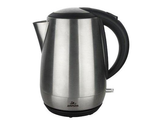 Чайник электрический  ДОБРЫНЯ ДО-1211 нерж.