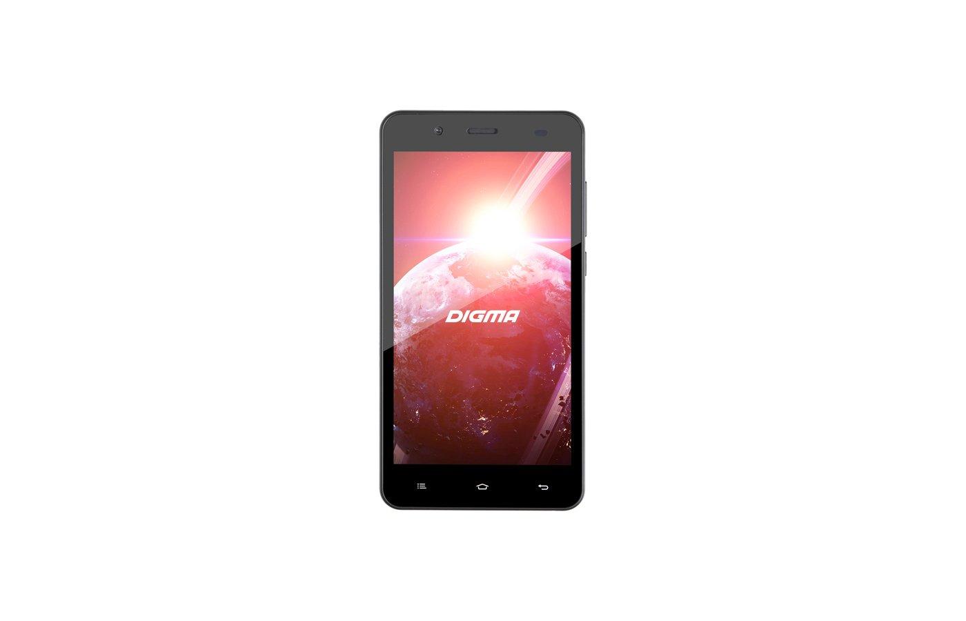 Смартфон Digma C500 3G Linx 4Gb graphite