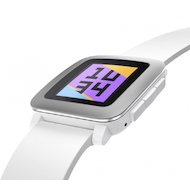 Фото Смарт-часы Pebble Time белые
