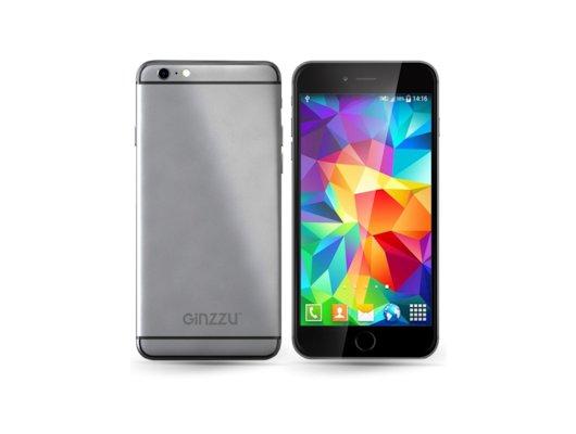 Смартфон Ginzzu S4720 Gray