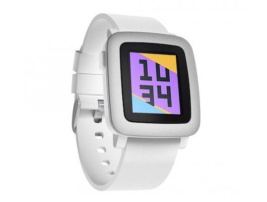 Смарт-часы Pebble Time белые