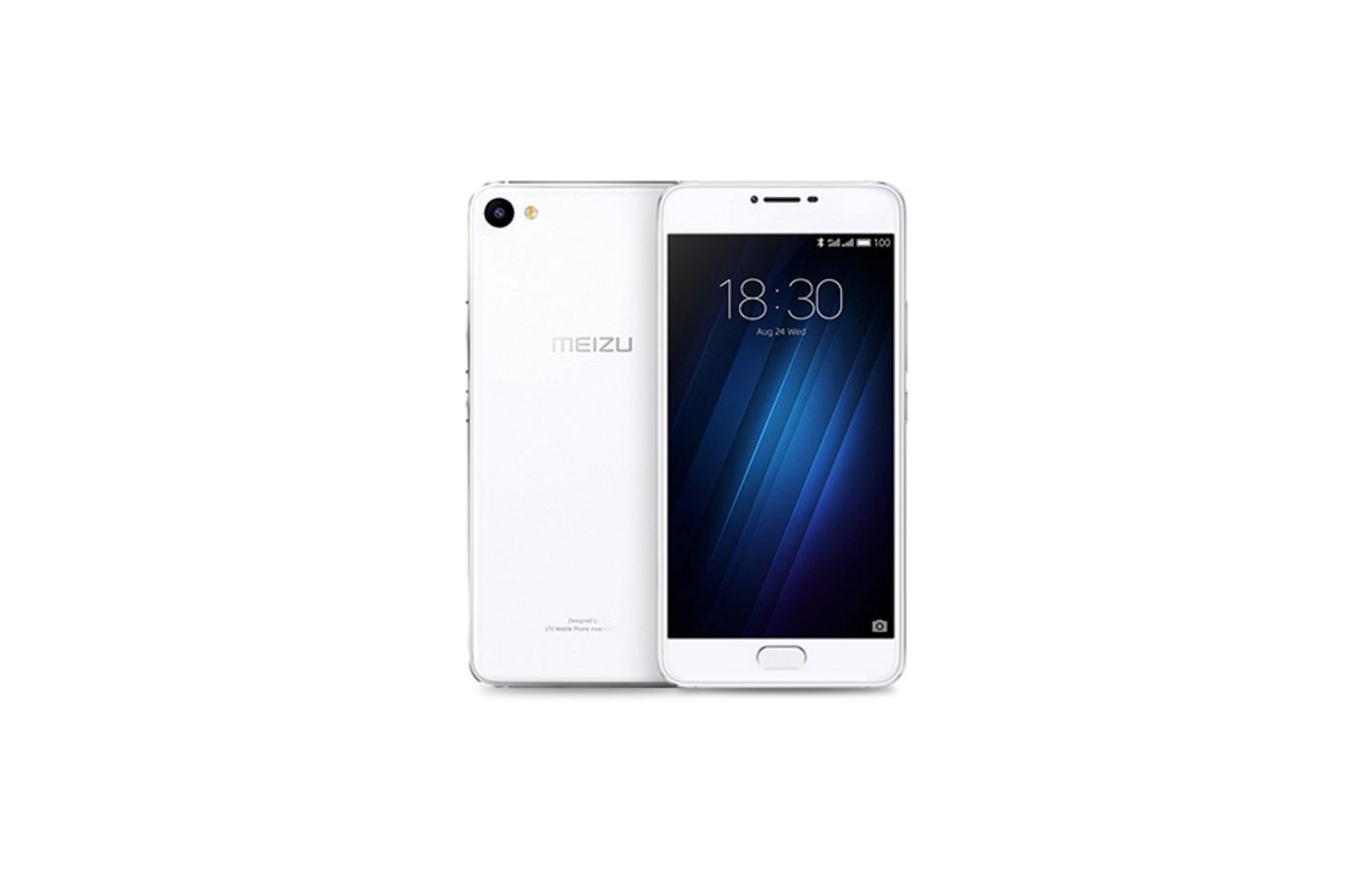 Смартфон Meizu U10 16Gb Silver White