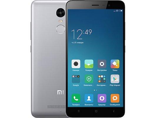 Смартфон Xiaomi Redmi Note 3 Pro Grey 32GB