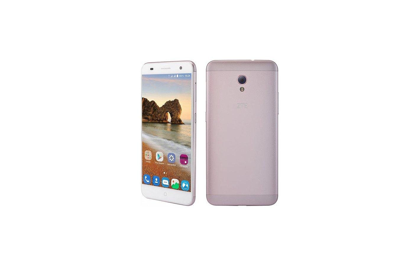 Смартфон ZTE Blade V7 pink